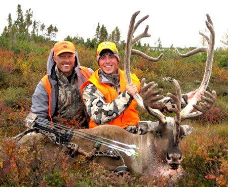 Caribou with a bow hunt