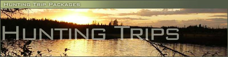 Hunting trip packages